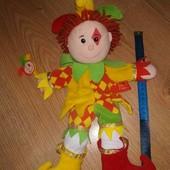 Шут, клоун кукла кукольный театр Telltale puppets Fiesta crafts