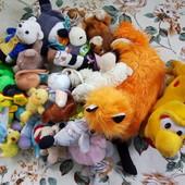 Мягкие игрушки, погремушки