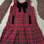 Школьный сарафан, платье,