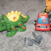 Конструктор сделай сам Динозавр+подарок