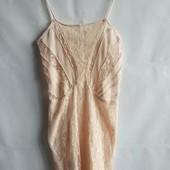 Женское платье сарафан в обтяжку испанского бренда Bershka