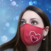 Очень удобная трикотажная фабричная маска