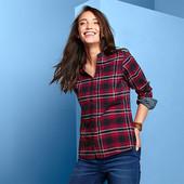 ☘ Фланелева сорочка в клітку від Tchibo (Німеччина), р .: 46-48 (40 євро)