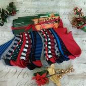 ☘ Лот 2 пари ☘ Яскраві бавовняні шкарпетки від tcm Tchibo (Німеччина), розміри: 35-37