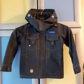 Куртка демисезонная на флисе 110 р