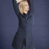 Джинсовое платье-рубашка Esmara,36/38 евр,С/М.