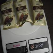 Вкусный лот с халвой)В лоте 3 штуки общим весом 100 грамм.Халва зебра с какао.Сроки до 05.21-го года