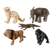 Животные Африки набор 5 шт фигурок Playtive Сертифицировано в Германии!