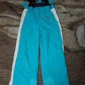 Горнолыжные термо-штаны на рост 140см