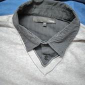 Красивый фирменный тонкий свитер к весне на 54р. Новое состояние.