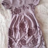 Красивое платье с болеро на рост 122 см