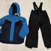 Германия! Crivit! Зимний лыжный термокостюм куртка штаны на мальчика 98-104 2-4 года