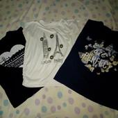 Набор 5шт. туника Kitty, футболки и юбка атласная с лаковым поясом