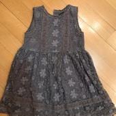 Очень красивое нарядное платье Next на 2-3 года