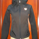 Куртка-кофта,Софтшел,на 12-13 лет,фирмы H&M,Утепленная,Моделька супер!