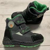 Термо ботиночки 26 размер стелька 16,5 см .