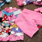 """74-80 Купальный шорти з комплекту """"Міккі"""" шорты для девочки, розовий- Disney"""