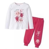Комплект для дома пижама lupilu германия 4-6 лет, 110-116 см