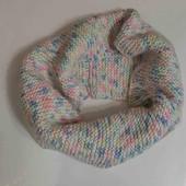 Теплый шарфик, хомут