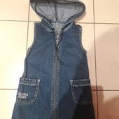 Джинсовый сарафпнчик Gloria Jeans