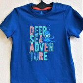 Стильная футболка для мальчика lupilu! Германия! 86-92р