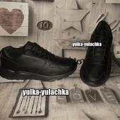Мужские кроссовки черные рр. 47, 49