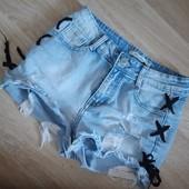 Бомба! Супер классные джинсовые шорты.