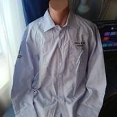 Мужская рубашка, р.L/XL( ворот 41/42)