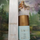 Женская туалетная вода Divine Дивайн + дезодорант шариковый Oriflame Орифлейм 50 мл
