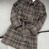 Стильное пальто в клеточку