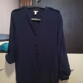 Вискозная блуза - рубашка Esprit. p. 10/M