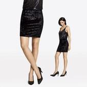 Германия!!! Велюровая нарядная юбка! Черная в лоте! 40 евро!