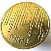 #15монета Польша, юбилейная, 2 злотых, 2008, Сибирские ссыльные