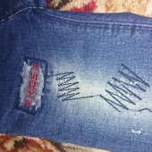 Детские джинсы на резинке, не секонд