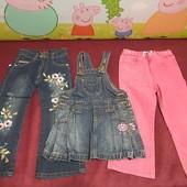 Лот одежды для девочки