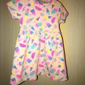 Бавовняне плаття на вік 1,5-2 роки