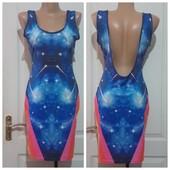 Сарафан платье галактика космос идеальное