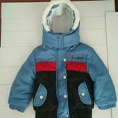 Курточка Деми(1-1,5года)-собирайте мои лоты