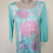 Бірюзова блузка Tom Tailor , стан чудовий