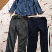 Брюки и рубашка, стильный лук