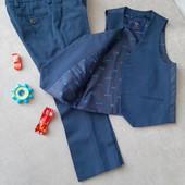 Набор брюки+жилет Next 3-4года