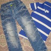 Встречай весну модно!!! Крутые потертые джинсы,- 130-140, смотрим замеры