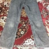 Утепленние вельветовие брюки для мальчика