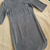 Роскошное замшевое платье Vintage dressing.Размер S-M-L.
