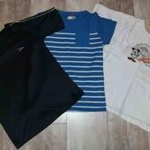 лот 3 футболки для мальчика(смотрите фото и описание)