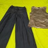 Широкие брюки+ кофточка