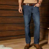 livergy.джинсы straight fit. Катон +лен  размер 50 замеры