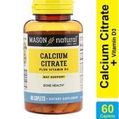 Кальций+витамин D3, 600 мг 60 таб. США