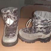 Термо ботинки Naturino, с мембр. Rain-Step, разм. 24 (15 см ст.). Сост. отличное!