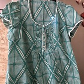 Размер 54/56! Новая лёгкая коттоновая блуза!